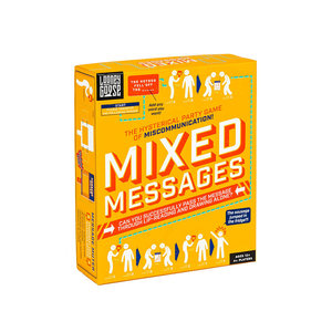 Professor Puzzle Mixed Messages - The Hysterical Party Game of Miscommunication - Ages 12+