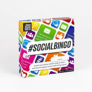 Professor Puzzle Social Media Bingo Game #socialbingo - Ages 17+