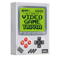 Professor Puzzle The Ultimate Video Game Trivia -Do You Have Enough Lives to Beat This Quiz? - Ages 12+