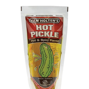 Redstone Foods Van Holten's Jumbo HOT Dill Pickle in a Pouch