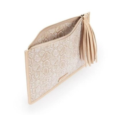 Consuela Anything Goes Pouch - Clay Snakeskin
