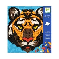 Djeco Art By Number - Mosaics (Tiger)