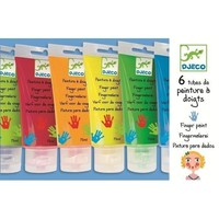 Djeco Finger Paint (Set of 6 Tubes)