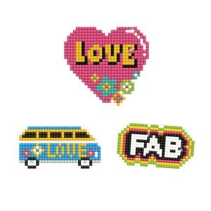 Diamond Dotz Dotzies Stickers - Love