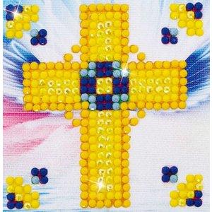 Diamond Dotz Diamond Facet Art Kit - Golden Cross