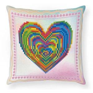 Diamond Dotz Diamond Dotz Mini Pillow Kit - Heart