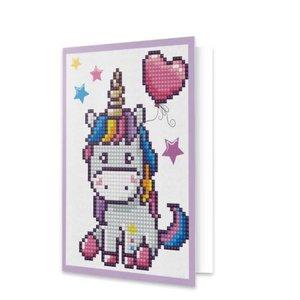 Diamond Dotz Unicorn - Greeting Card