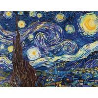 Diamond Dotz Intermediate Diamond Facet Art Kit - Starry Night (Van Gogh)