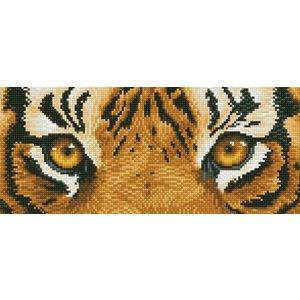 Diamond Dotz Beginner Diamond Facet Art Kit - Tiger Spy