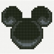 Diamond Dotz Dotz Beginner Black Mickey Mouse