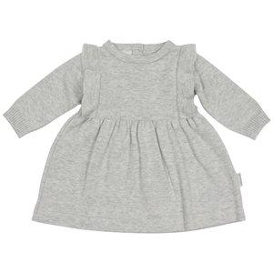 Korango Warratah Frill Knit Dress - Grey