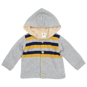 Korango Polar Bear Knit Jacket - Grey
