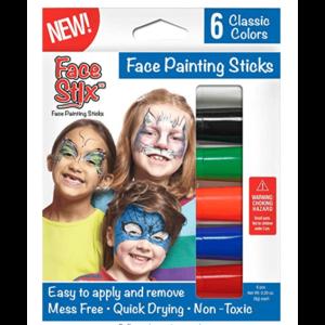 The Pencil Grip Kwik Stix - Face Paint - 6 Colors