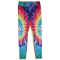 Candy Pink Rainbow Starburst Legging - Multi Color