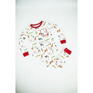 Nola Tawk (Child) Jungle All the Way Organic Cotton Pajama Set