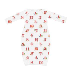 Nola Tawk 12 Days of Louisiana Christmas Pajama - Gown