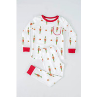 Nola Tawk Adult - Nutcrackers Organic Cotton Pajama Set