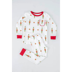 Nola Tawk Adult - Nutcrackers Organic Cotton Pajama Set