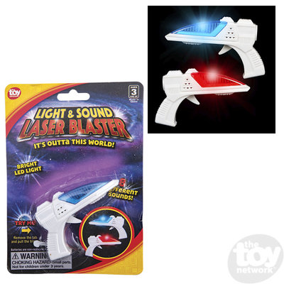 The Toy Network Light & Sounds Laser Space Blaster Gun