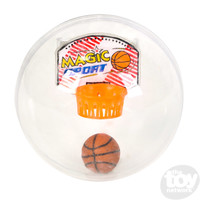 The Toy Network Rock & Cheer - Handheld Basketball Capsule Game with sound