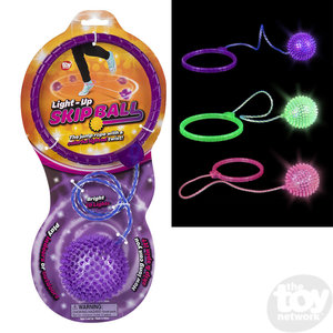 The Toy Network Light-Up Skip Ball