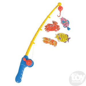 The Toy Network Deluxe Fishing Game - 5 Piece Set