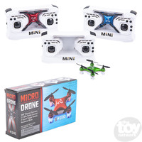 The Toy Network Micro Drone Copter - RED