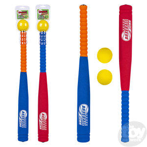 The Toy Network Foam Baseball Bat & Ball Set
