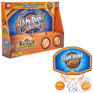 The Toy Network Crazy Shot Basketball Game Hoop Set