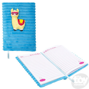 """The Toy Network Squishie Llama Journal 4""""X6"""""""