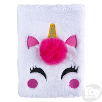 The Toy Network Unicorn Plush Journal - 80 pages