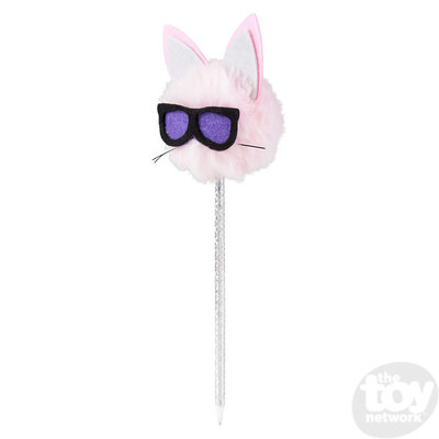 The Toy Network Cool Cat Pom Pom Pen