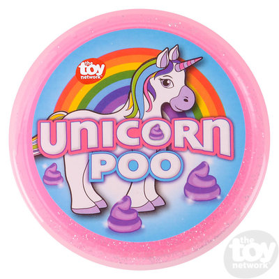 The Toy Network Unicorn Poo Glitter Putty