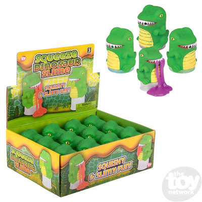 The Toy Network Squeeze Dinosaur Slime