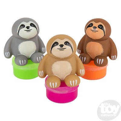 The Toy Network Sloth Slime