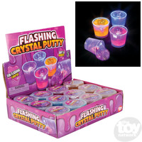 The Toy Network Flashing Crystal Putty