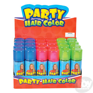 The Toy Network Temporary Hair Color - Spray On Party Hair!