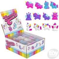 The Toy Network Gummy Mini Unicorn