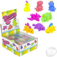 The Toy Network Gummy Mini Dinosaurs