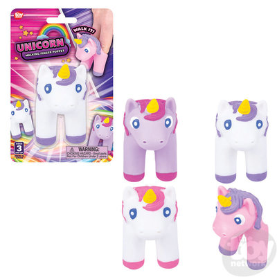The Toy Network Unicorn Walking Finger Puppet