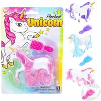 The Toy Network Flocked Unicorn Play Set