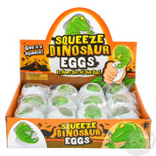 The Toy Network Squeeze Dinosaur Egg