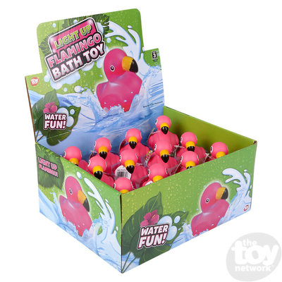 The Toy Network Light-Up Flamingo Bath Toy
