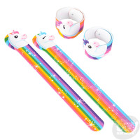 The Toy Network Unicorn Shaped Slap Bracelet