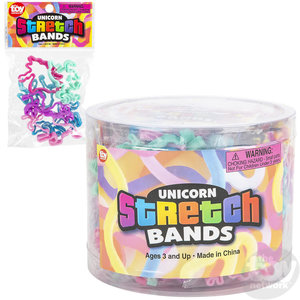 The Toy Network Unicorn Stretch Bands