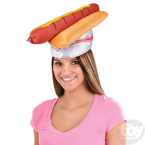 The Toy Network Hot Dog Hat