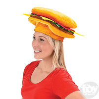 The Toy Network Hamburger Hat