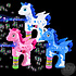 "The Toy Network 5"" Light and Sound Unicorn Bubble Blaster"