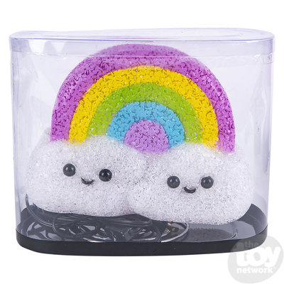 The Toy Network Sparkle Rainbow Cloud Lamp