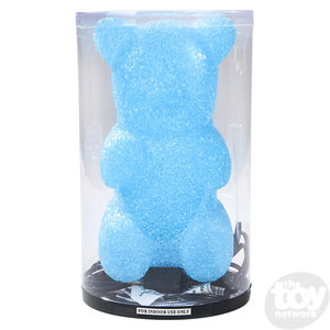 """The Toy Network Sparkle Blue Gummy Bear Lamp (10"""")"""